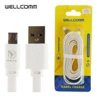 kabel data micro usb 2meter wellcomm fast charging