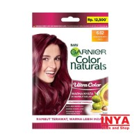 GARNIER COLOR NATURALS ULTRA COLOR 6.62 CRANBERRY RED 30mlx30gr SACHET