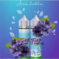 LIM Freeze Grape 60ML by Liquid Indonesia Modern 100% Authentic
