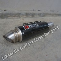 Knalpot Spartan R 3 Suara 150 cc Silincer Only Stainless