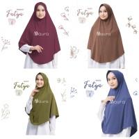 Khimar Fatya NEW size L by Maura Jilbab Kaos Premium Daily Adem