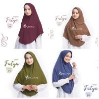 Khimar Fatya NEW size M by Maura Jilbab Kaos Premium Daily Adem