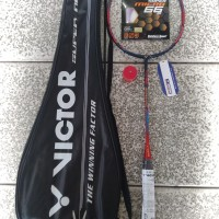 Raket badminton victor spider man