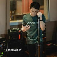 kaos Greenlight ARIEL NOAH hijau Original