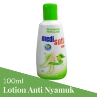 Medisoft Mosquitto Repelent Botol 100ml Lotion Anti Nyamuk 1 Pcs Hijau