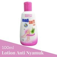 Medisoft Mosquitto Repelent Botol 100ml Lotion Anti Nyamuk 1 Pcs Pink