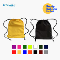 Tas Serut Drawstring Bag Anti Air ( Waterproof ) Gym bag