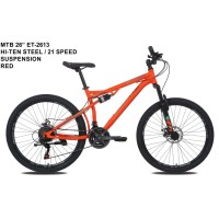 SEPEDA MTB 26 INCH EXOTIC BY PACIFIC DOUBLE SUSPENSI SHIMANO 21SPEED