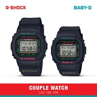 Casio G-Shock Baby-G Jam Tangan Couple LOV-19B-1DR Digital