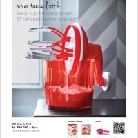 mixer tanpa listrik tupeware