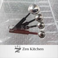 sendok takar sendok ukur measuring spoon stainless 4 ukuran
