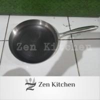 wajan Fry pan anti lengket 24 cm stainless 304