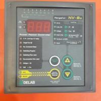 POWER FACTOR CONTROLLER DELAB NV-8s ( 8 step )