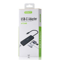 Robot HT240 USB Hub Type C Macbook HP 5 in 1 Card Reader USB MicroSD