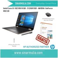 HP Spectre x360 - 13-aw0001tu i5-10210U - 8 GB -512 GB -MX130