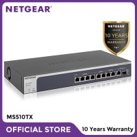 Netgear MS510TX 8 Port Multi Gigabit Ethernet Smart Managed Pro Switch