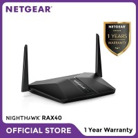 Netgear RAX40 Nighthawk Smart WiFi Router AX4 4 Stream WiFi 6