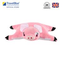 Travel Blue PinkyThePig Bantal Travel Anak Kids Neck Pillow TB292