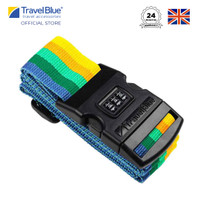 """Travel Blue 2"""" Tali Bagasi Luggage Strap - 3 Dial Combination TB047"""