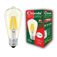LAMPU LED FILAMEN CHIYODA ST64 7W GOLD WW/KUNING