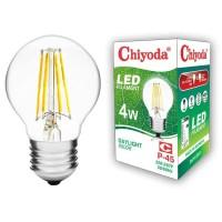 LAMPU LED FILAMEN CHIYODA P45 4W E27/PUTIH CLEAR