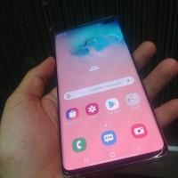 Samsung s10 plus ram 8gb internal 128gb istimewa garansi juni 2020