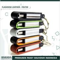 Flashdisk Kulit Leather Polos Kode FDLT20