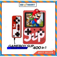 mainan anak Game Boy Retro mini Fc 400 in 1 sup Video games + stick TV