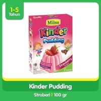 Milna Toddler Puding Strawberry 100gr