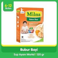 Milna Bubur Reguler 6 Bulan Sup Ayam Wortel 120gr