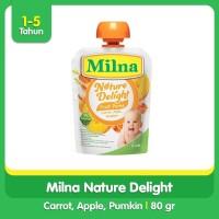 Milna Nature Delight Carrot, Apple, Pumpkin 80gr