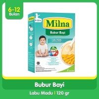 Milna Bubur Regular 6+ Labu Madu 120gr