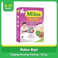 Milna Bubur Reguler 8+ Bulan Semur Daging Kacang Polong 120gr