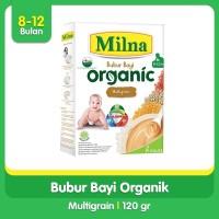 Milna Bubur Organik 8+ Multigrain 120gr