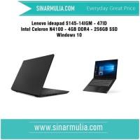 lenovo ideapad S145-47ID Celeron N4100 - 4GB - 256GB SSD -Windows 10
