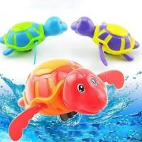 Penyu Putar Jumbo Berenang dalam Air Mainan Clockword Jadul