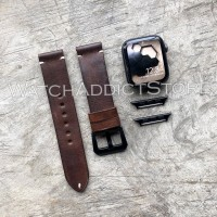 voyage original strap kulit asli apple watch iwo samsung tali jam