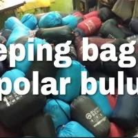 SLEEPING BAG POLAR BULU TEBAL..LEBIH HANGATTT..