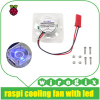 Raspberry Pi - Fan Cooling with Blue LED