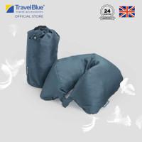 Travel Blue Bantal Leher Bulu Angsa Dream Neck Pillow TB215