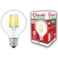 LAMPU LED FILAMEN CHIYODA G80 8W E27/KUNING CLEAR