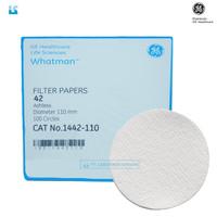 Whatman Filter Paper / Kertas Saring Grade 42 , 110 mm