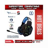 Alcatroz X-Craft HP Gold 8000- Wireless Bluetooth Gaming Headset