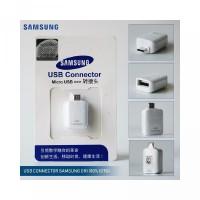 OTG USB Connector SAMSUNG ORIGINAL 100 S6 S7 EDGE NOTE 5