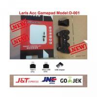 Grosir Gaming Wireless Game Pad D-001 smart controller Dengan Type C M