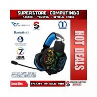 Alcatroz X-Craft HP Gold Series- Wireless Bluetooth Gaming Headset
