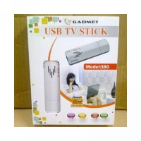 GADMEI 380 USB TV Tuner Stick For Notebook PC