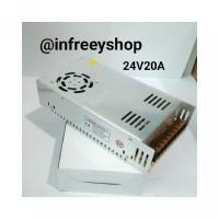 Power Supply 24V 20A Berkualitas
