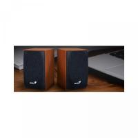 GENIUS SP-HF160 Wooden Speaker Desktop Multimedia PC Komputer Laptop U