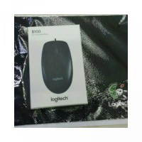 Mouse B100 Paket Mousepad